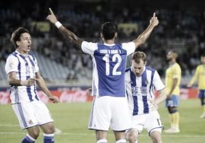 Las Palmas-Real Sociedad 0-1: Xabi Prieto, aiutato da Varas, lancia i baschi verso l'Europa