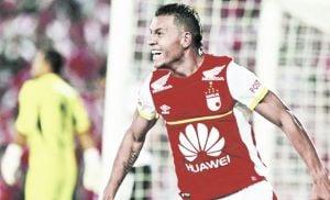 Wilson Morelo, el artillero que quiere llevar a Santa Fe a semifinales de Copa Libertadores