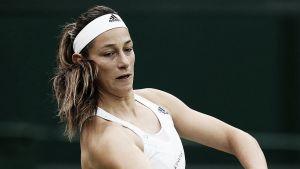 Mariana Duque también dijo adiós a Wimbledon