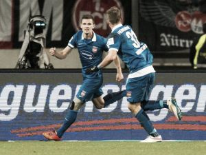 1. FC Nürnberg 0-1 1. FC Heidenheim: Wittek heads home to secure hard-fought win