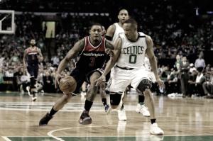 Boston Celtics thwart Washington Wizards 123-101, totake commanding 3-2 series lead