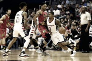Washington Wizards win pivotal Game 5 103-99, to lead series against Atlanta Hawks 3-2