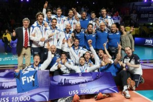 Bronzo per gli azzurri in World League