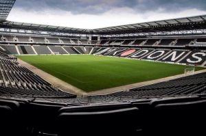 توتنهام الانجليزي قريب من الاتفاق مع نادي ميلتون كينز دونز بشأن ملعبه المؤقت