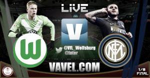 Resultado Wolfsburgo vs Inter de Milán (3-1)