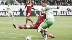 VfL Wolfsburg 1-1 1. FC Köln: Late goals cancel out each other out in hard-fought draw