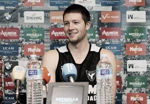 """Scott Wood: """"Estoy muy contento por volver a jugar con el equipo"""""""