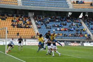 El UCAM se proclama campeón del grupo cuarto ante un triste Cádiz