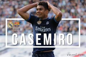 Fator Casemiro: volante foi fundamental na última vitória no Camp Nou