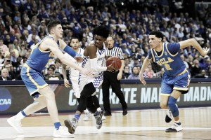 De'Aaron Fox brilha, Kentucky bate UCLA e avança ao Elite 8