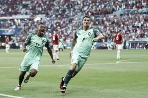 Ronaldo marca dois e Portugal garante classificação em empate eletrizante diante da Hungria