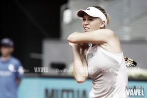 Wozniacki despierta a tiempo en su estreno en Bastad