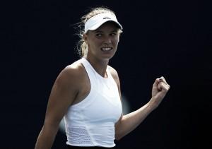WTA Rogers Cup: Caroline Wozniacki roars back to stun Karolina Pliskova