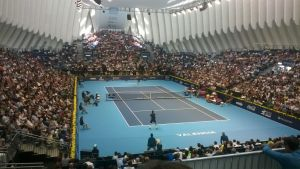 Murray noquea a Ferrer