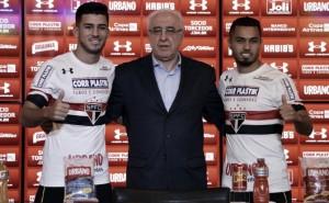 Visando reforçar sistema ofensivo, São Paulo anuncia Marcinho e Morato como reforços