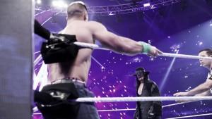 Lesnar retiene en el regreso de 'The Undertaker'