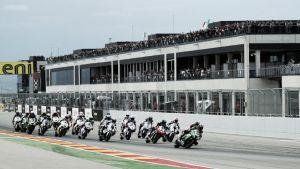 La recta de Motorland volverá a juzgar a las mecánicas de Superbikes