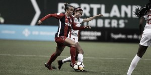 A hard fought battle ends in a draw for the Portland Thorns and the Washington Spirit