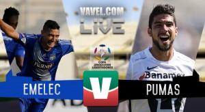 Resultado Emelec 1-2 Pumas en la Copa Libertadores 2016