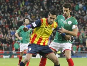 Ocho jugadores de la Real Sociedad en la victoria de Euskadi