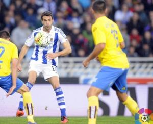 Real Sociedad - Las Palmas: puntuaciones Real Sociedad, jornada30 de la Liga BBVA