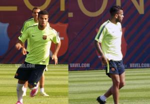 Rafinha y Alves sancionados ante el PSG