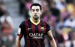 Xavi: Not happy on the Barca bench