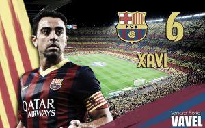FC Barcelona 2014/15: Xavi Hernández