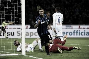 Risultato finale Frosinone - Inter in Serie A 2016 (0-1): Frosinone sfortunato,all'Inter basta Icardi