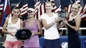 Makarova y Vesnina conquistan Nueva York