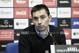 """Garitano: """"Un equipo como nosotros no tiene miedo"""""""