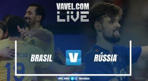 Resultado Brasil x Rússia pela Liga Mundial de Vôlei (3-2)