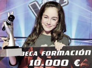 """María Parrado, la """"inesperada"""" ganadora de La Voz Kids"""