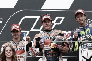 MotoGP, Sachsenring: le parole di Márquez, Pedrosa e Rossi a fine gara