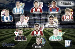 El Once de Oro de VAVEL: séptima jornada de Liga BBVA