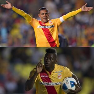 Aldo Leao Ramírez y Duvier Riascos celebraron con gol en México