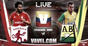 Resultado América de Cali vs Atlético Bucaramanga (2-2)