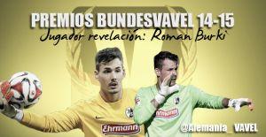 Jugador revelación de la Bundesliga 2014/2015: Roman Bürki