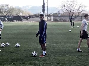 Yangel Herrera presentado en el New York City FC
