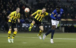 Lukaku presenta la candidatura del Everton para la Europa League