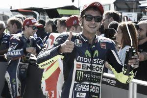 """Valentino Rossi: """"Estoy muy satisfecho porque es la primera 1º fila de la temporada"""""""