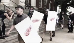 Los Red Wings condenan el uso indebido de su logo