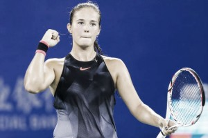 WTA Wuhan: Superb Daria Kasatkina storms past Simona Halep