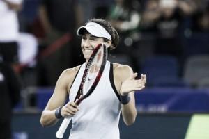 WTA Wuhan: Caroline Garcia eases past Maria Sakkari to reach the final