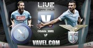 Nápoles vs Lazio, Coppa Italia en vivo y en directo online