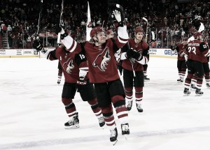 Arizona Coyotes look forward to being a playoff team next season