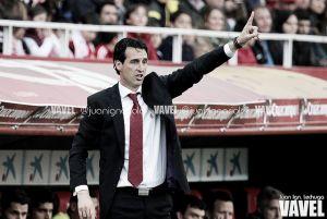 Emery y sus 30 partidos europeos con el Sevilla