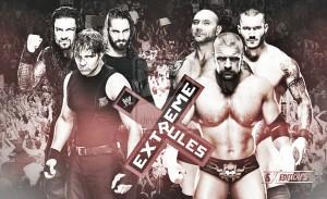 Vista al pasado: The Shield - Evolution, Extreme Rules 2014