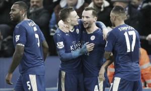 Premier League, tris allo Stoke City e il Leicester vola solo in testa