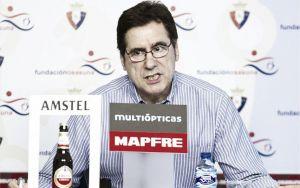 """Javier Zabaleta: """"Este pago supondrá la viabilidad económica de Osasuna, la deuda está ahogando al Club"""""""